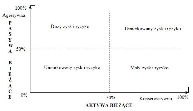 Macierz strategii zarządzania kapitałem obrotowym brutto